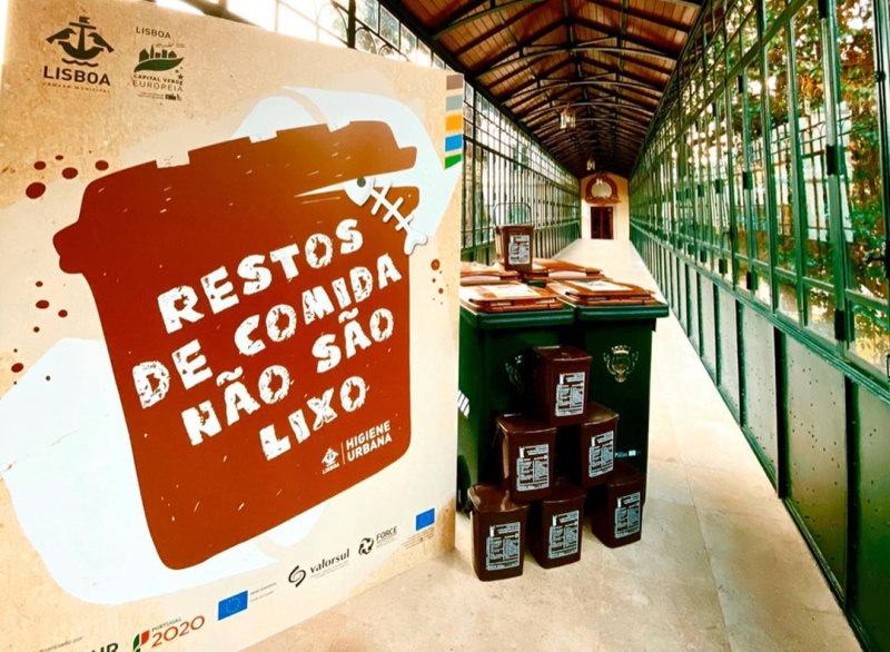 Lisboa já tem contentores castanhos para resíduos orgânicos