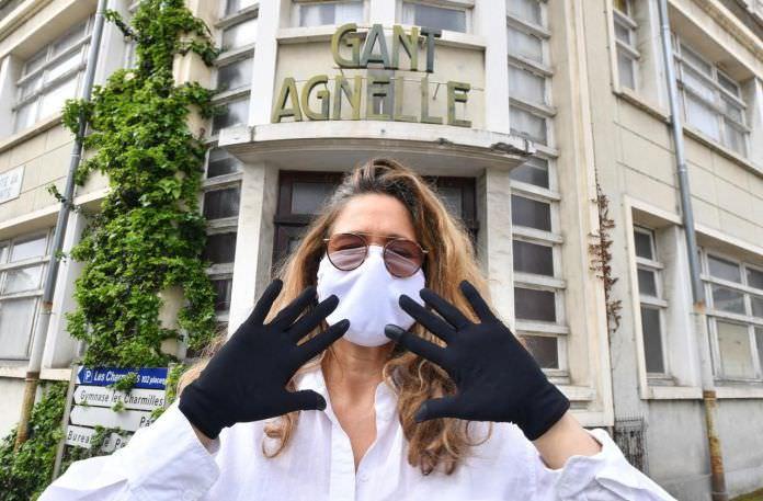 Agnelle: fabricante francês de luvas de luxo cria modelo de proteção reutilizável (Covid-19)