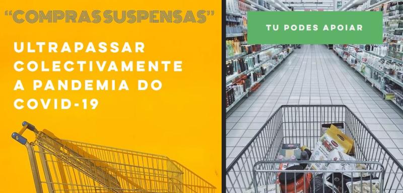 """""""Compras Suspensas"""" na Covilhã: pague antecipadamente as compras a quem precisa (Covid-19)"""