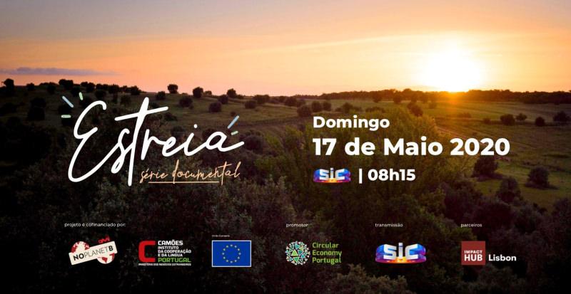 """""""É p'ra amanhã"""", série portuguesa sobre sustentabilidade estreia 17 de maio na SIC"""