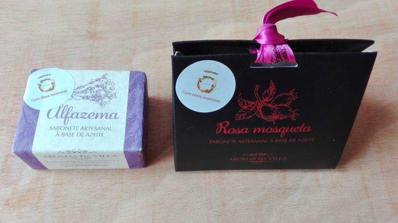 Review: Sabonetes de Alfazema e de Rosa Mosqueta da Aromas da Villa