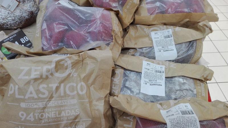 Sacos do Pão no Continente são agora sem plástico