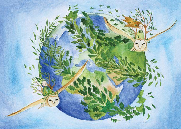"""""""O que aconteceu quando paramos"""", animação narrada por Jane Goodall [vídeo]"""