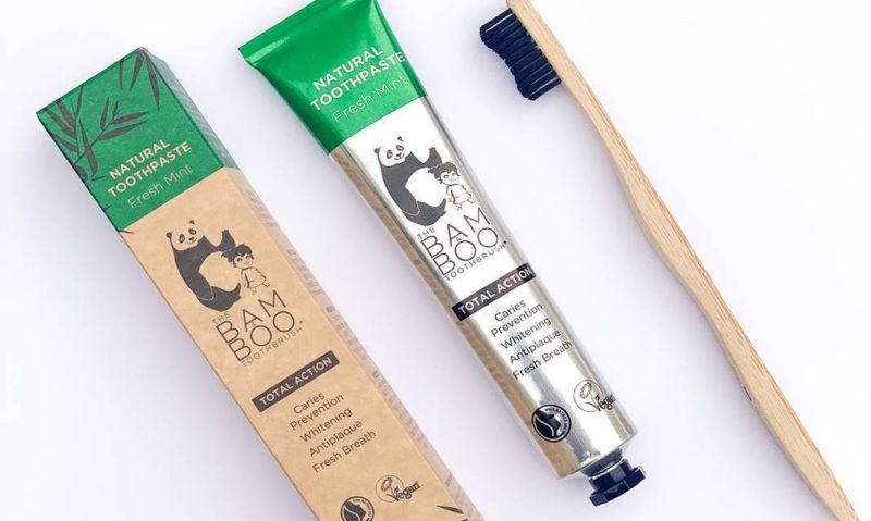 The Bam & Boo lançou pasta de dentes natural, vegan e com certificado climate neutral