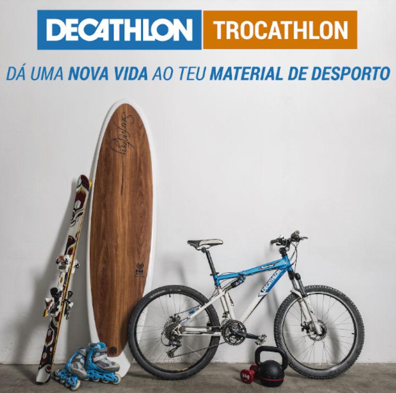 Decathlon dá uma segunda vida ao equipamento desportivo