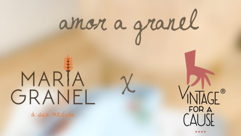Vintage for a Cause e Maria Granel juntaram-se e criaram a coleção Amor a Granel