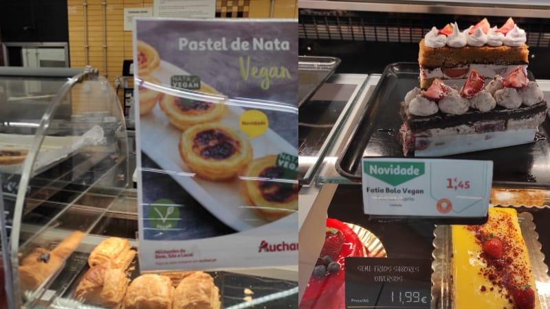 Auchan lança pastéis de nata e bolos vegans na pastelaria